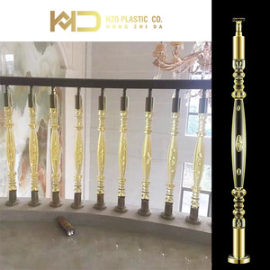 Factory price clear acrylic balustrade balcony baluster made in China