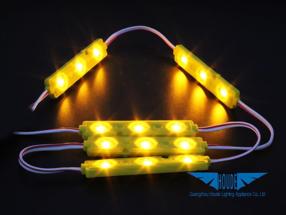 12v 24v CE smd 3leds 5630 5730 2835 5050 led module for channel letter sign back lighting high power injection lens led module