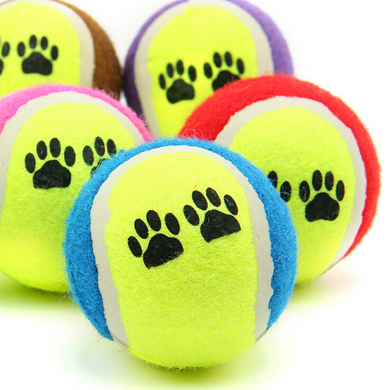 Factory Price Pet Dog Chew Toys Tennis Ball Cat Toys