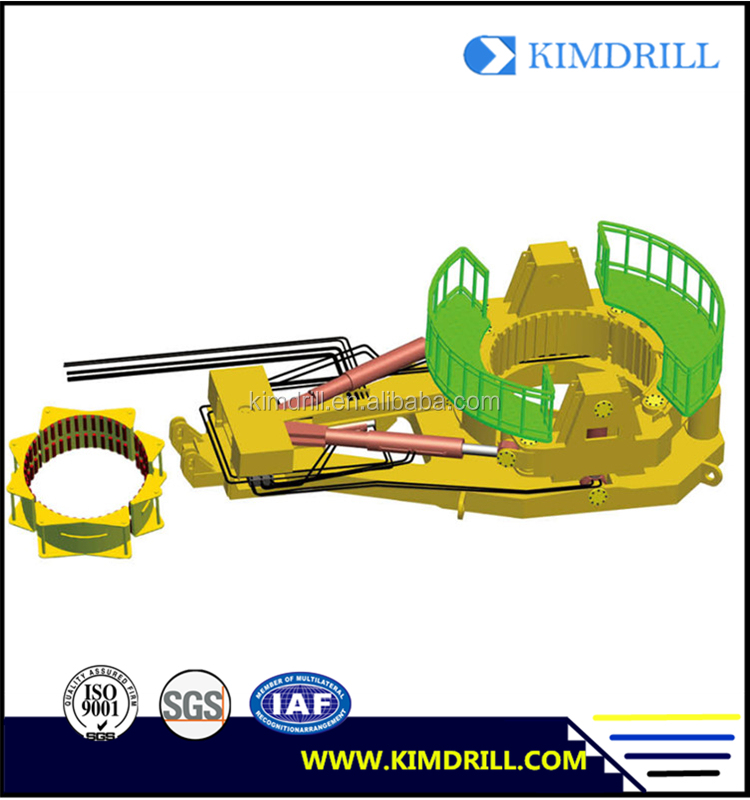 Kimdrill hydraulic casing oscillator attachment to crawler