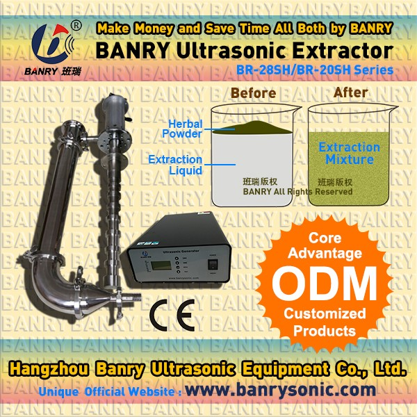 Hangzhou BANRY Ultrasonic chemical Biodiesel reaction equipment for sale