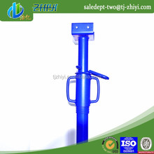 best price long life Span electro galvanized shoring jack post made in China