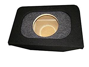 """Zenclosures 2000-2009 Honda S2000 1-12"""" Subwoofer Box with RECESSED MOUNTING HOLE (TYPE 3 black/char)"""