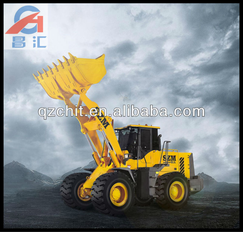 load repairing and earth moving large wheel loader