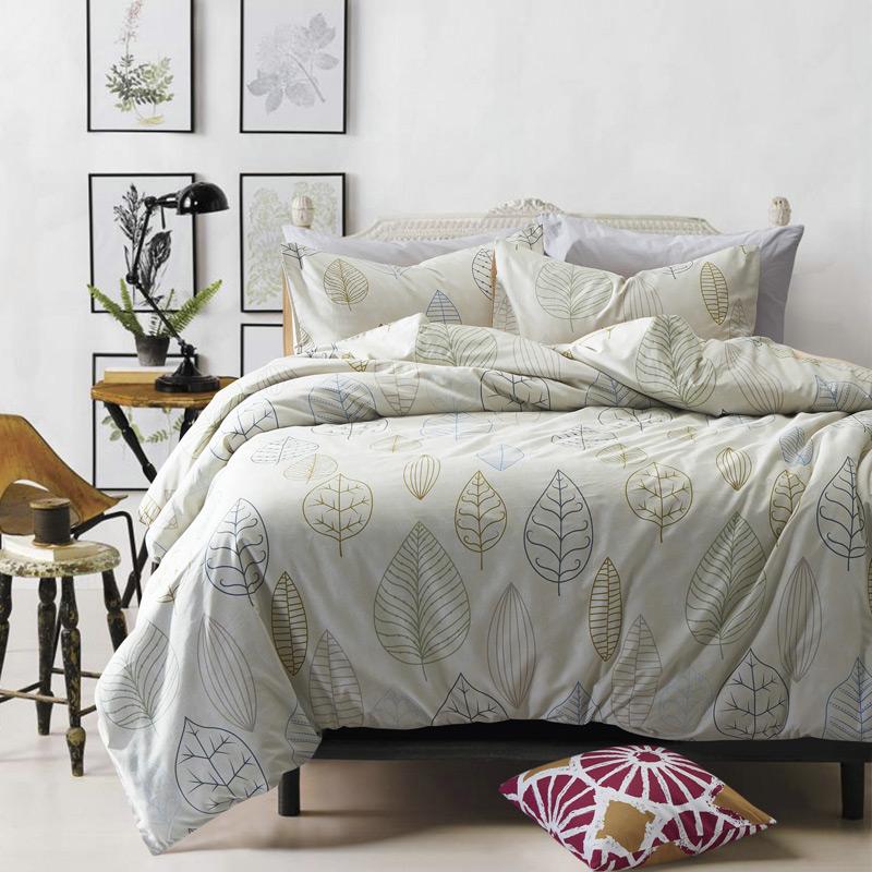 Leaf Pattern Comforter Sets Promotion Shop For Promotional