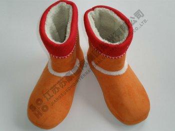 Soft Short Plush Cloth Tpr Sole,Handicraft Boot,Art Shoes ...