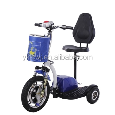 cheap adult 3 wheel electric folding bike mini bike x3 electric tricycle for handicapped