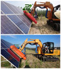 Panel protection Safety control solar panel cleaning system