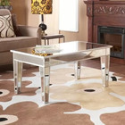 Modern mirrored living room/hotel furniture central coffee/console/dining/steering table