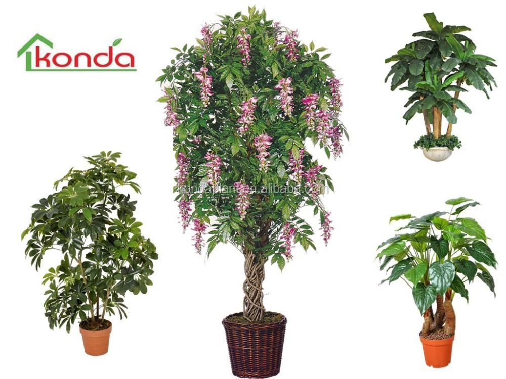 Venta caliente verde artificial plantas artificiales - Arboles artificiales grandes ...