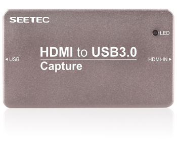 stream HD video live using an HDMI cable USB3 Capture HTU3.0