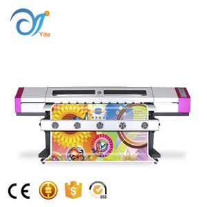 High Quality 180cm Plotter Galaxy UD-181LA Digital Large Format Oil Painting Eco Solvent Inkjet Printer For Wall Mural
