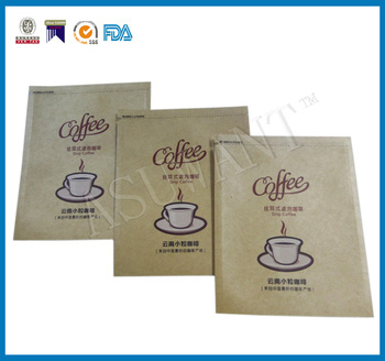 Kraft Paper Small Coffee Sachets Puuches Single Brew Coffee Bags