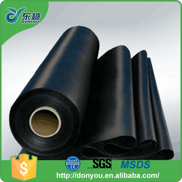 Factory direct price round PU sticky black PU diaphragm rubber sheet with great price