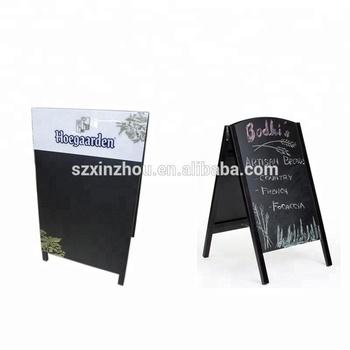2-sided Sidewalk Sandwich A-frame Chalkboard Restaurant Menu Sign ...