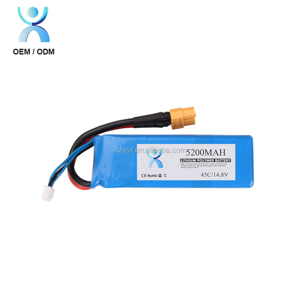 30c rc helicopter battery 5000 mah battery lithium polymer 4s 14.8v li polymer battery pack