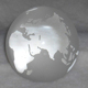 world globe dome paperweight,crystal business souvenirs