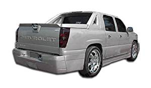 2002-2006 Chevrolet Avalanche Duraflex VIP Side Skirts Rocker Panels (w/o cladding) - 2 Piece (Overstock)