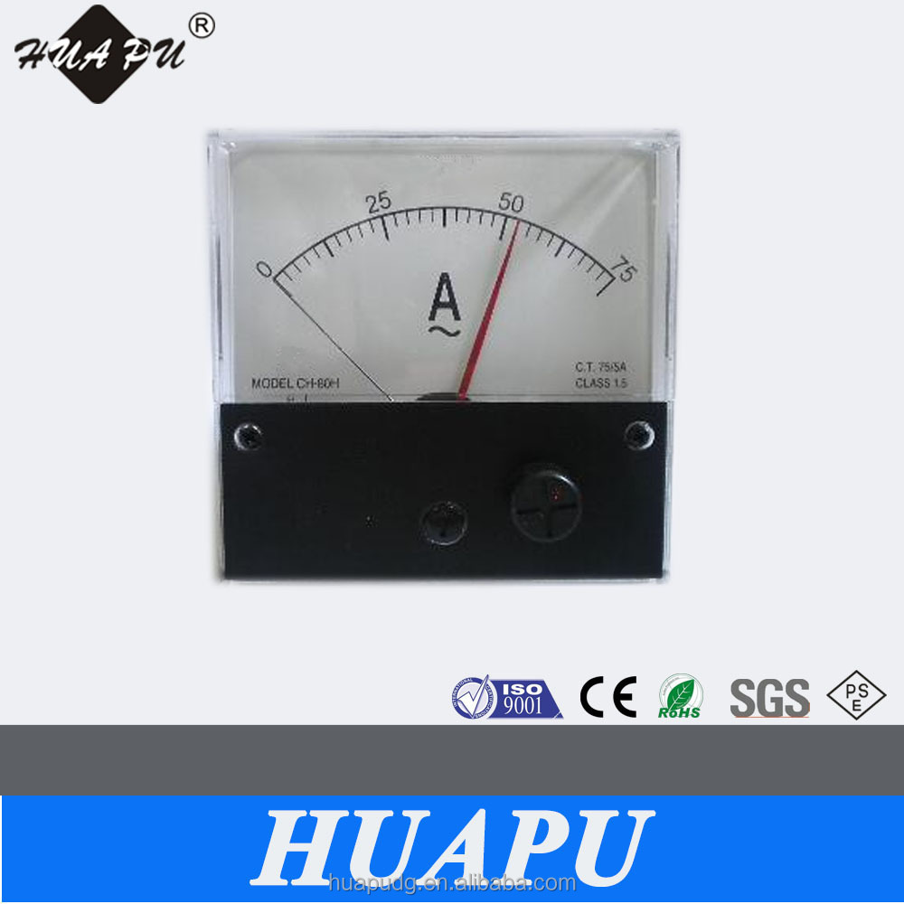 Manufacturer Dc Ac Ammeter Analog Meter Relay Upper And Down Limit ...