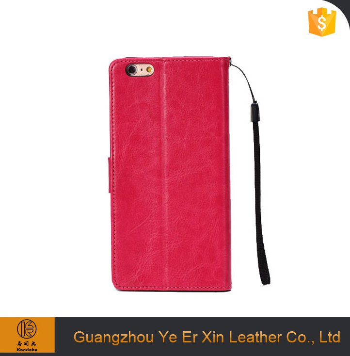 Wholesale best quality free sample PU leather cell phone case for iphone 7