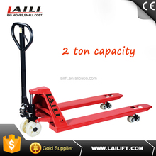 2--5ton hand pallet truck price with CE certificate