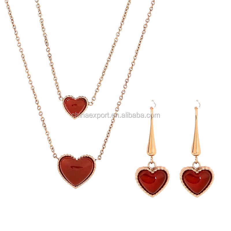 China Beautiful Designer Gold Necklace Set, China Beautiful ...