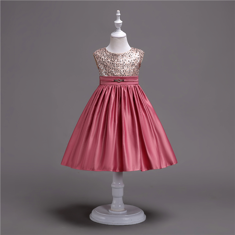 summer kids clothes engagement party dress baby cotton frock design for 10 year old girl wear