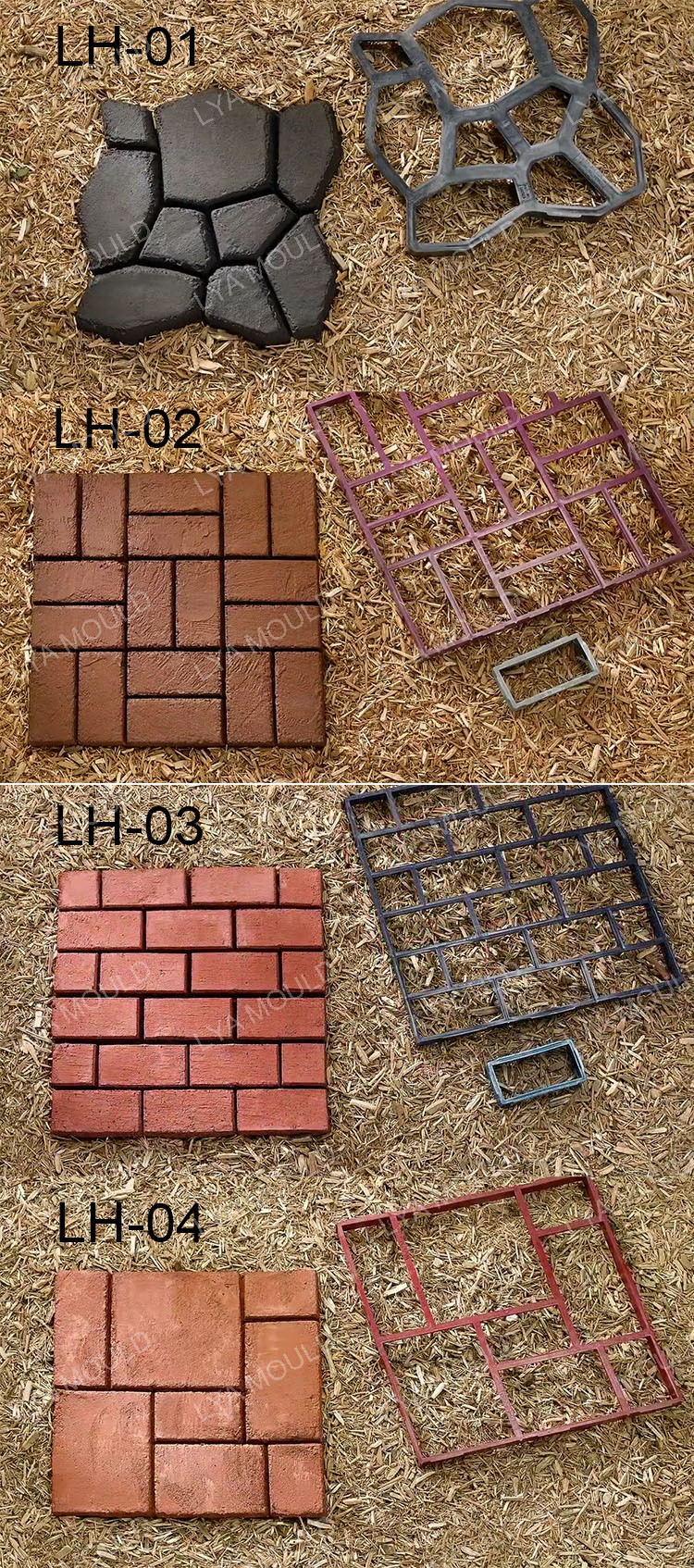 Concrete Cement Path Paver Patio Mould For Walkmaker Pathmate Garden Stone