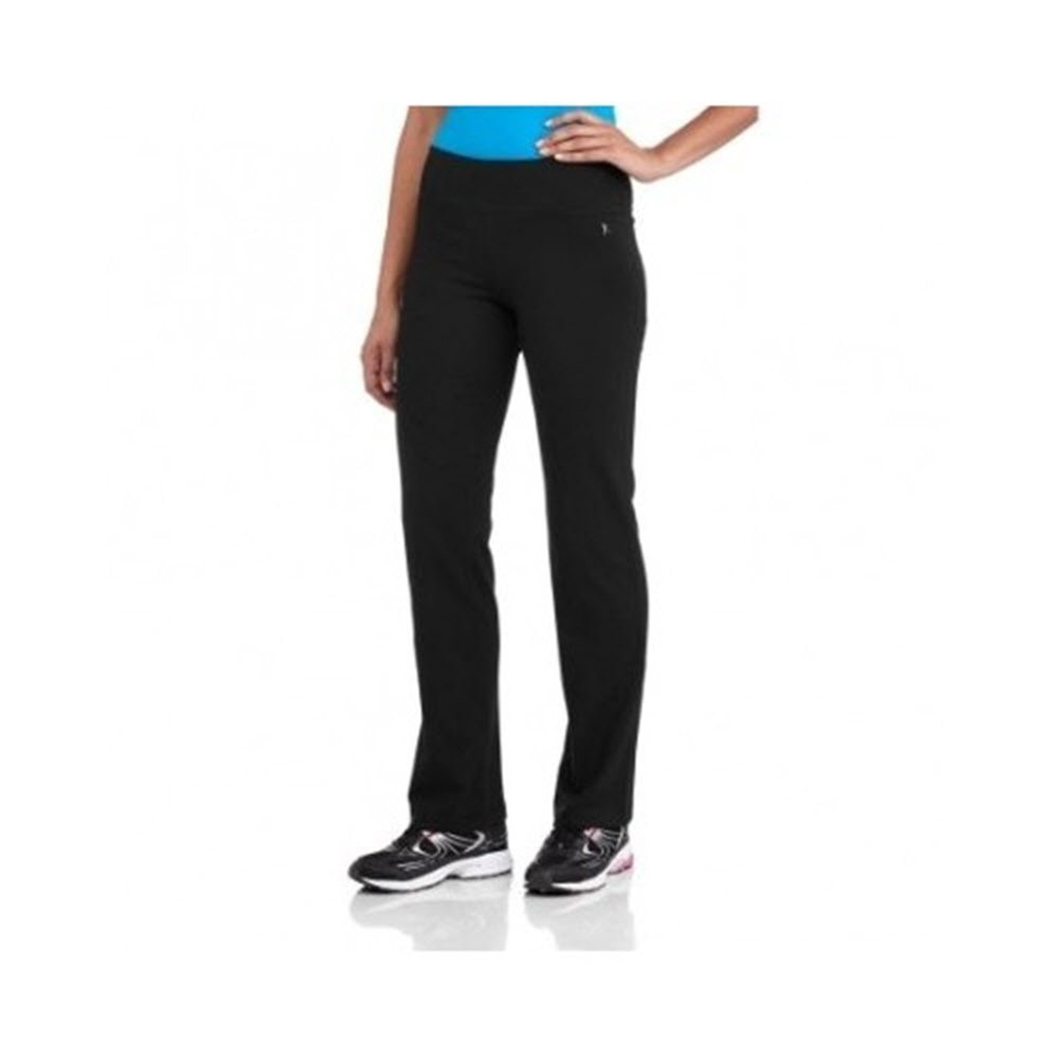 941a87009230e Get Quotations · Danskin Now Womens Petite Cotton Semi-Fitted Exercise Yoga  Pants (X-Large,