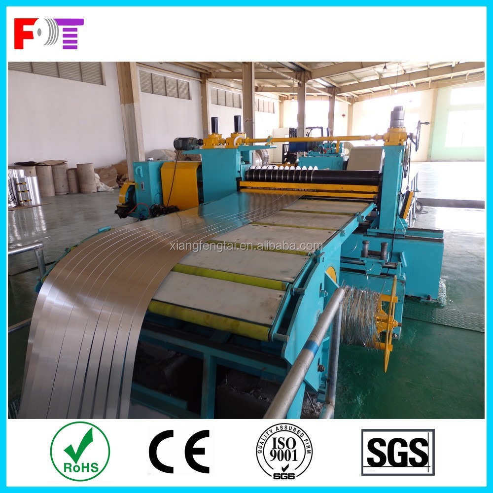 Metal coil metal sheet steel coil steel sheet slitting line 200-2000mm