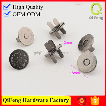 magnet buttons for leather low price decorative brass nails