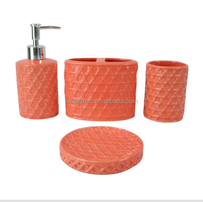 Best Orange Bathroom Accessories Photos - Home Decorating Ideas ...