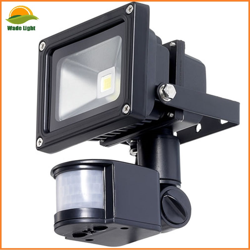 PIR Motion led lighting ningbo 20W 30W 50W White Security Flood Light UK