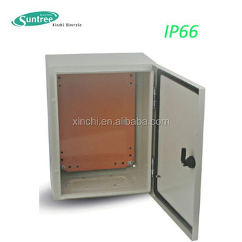 Electric Supplies Metal Box Steel Wall Mounting Enclosure Ip66 Electrical Panel Sizes