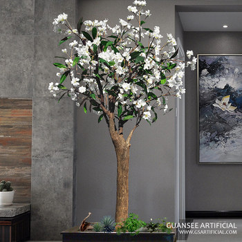 New arrival artificial silk frangipani flower tree buy flower pot new arrival artificial silk frangipani flower tree mightylinksfo
