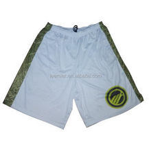 Customized antique woven basketball mens shorts
