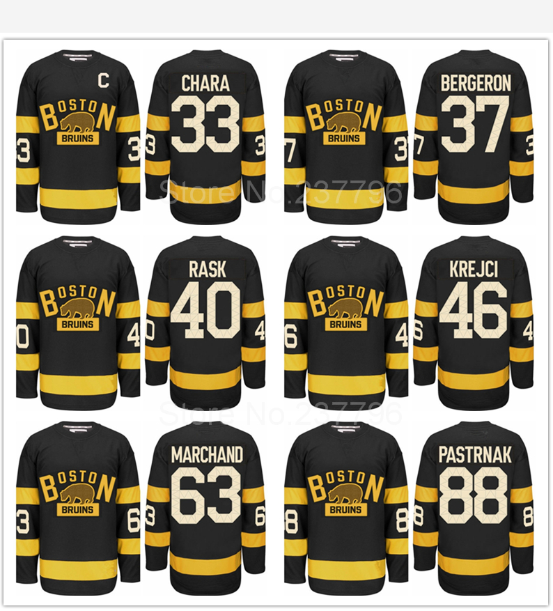 best website 1440e d7635 Boston Bruins 2016 Winter Classic Jersey Black 33 Zdeno ...