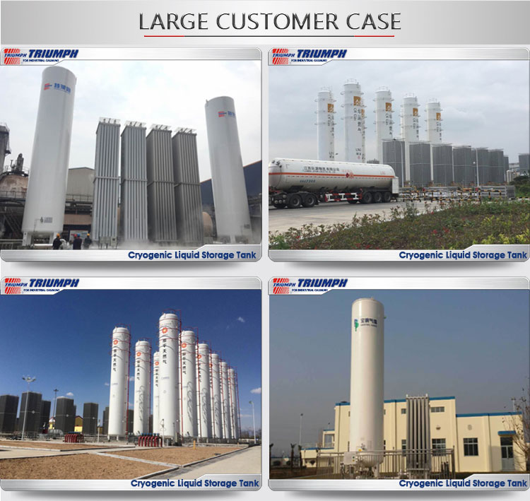 High Quality Cryogenic Storage Tank for Industrial Gas