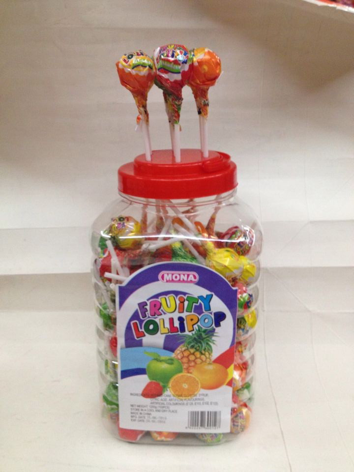 China good sale new design 12g fruity lollipop