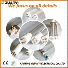 RoHS approved 6W 15mm bactericidal uv germicidal lamp