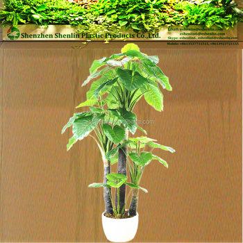 Indoor Outdoor Fake Artificial Scindapsus Floor Plants For Office Desk