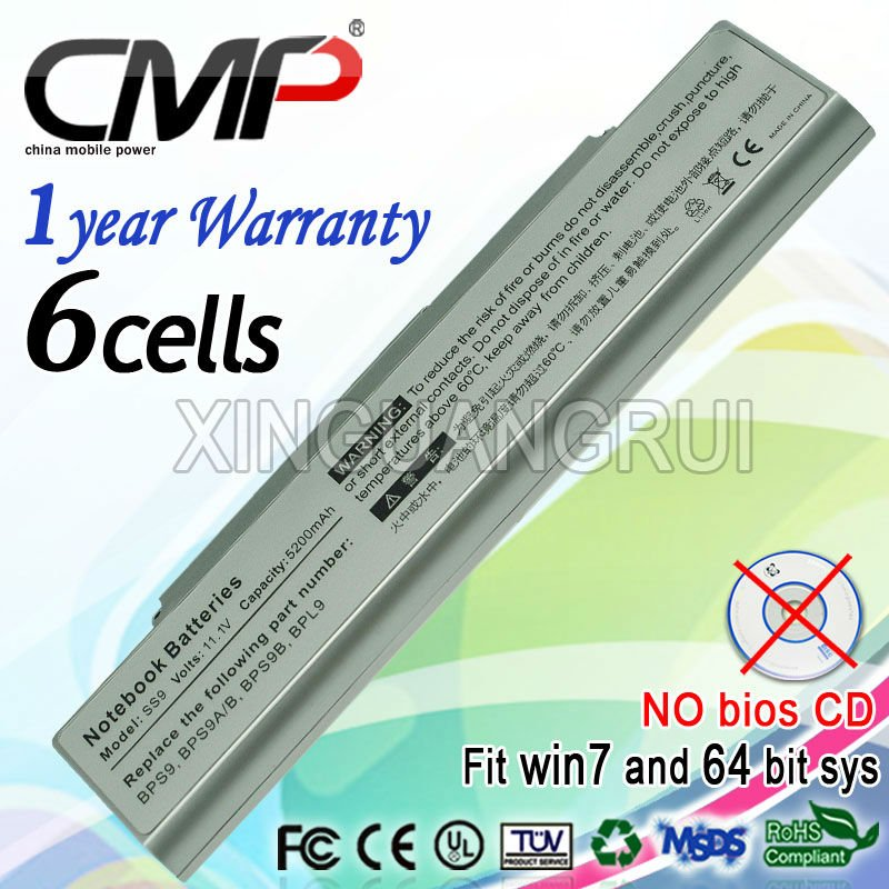 Vgp-bps9 s battery