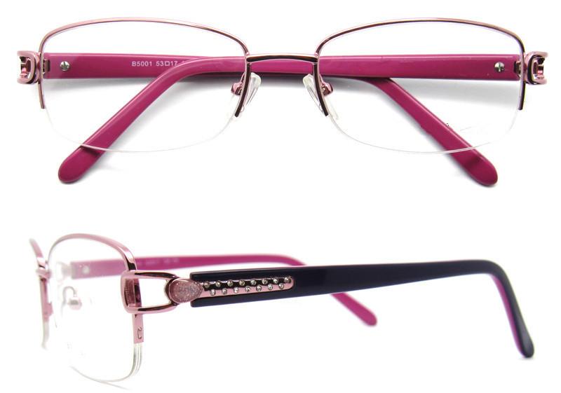 3d33793ef hot sell womens rhinestone eyeglass frames german eyeglass frames gold  glasses frame