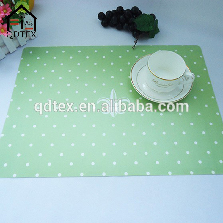 Most popular bright color pp and foam placemat
