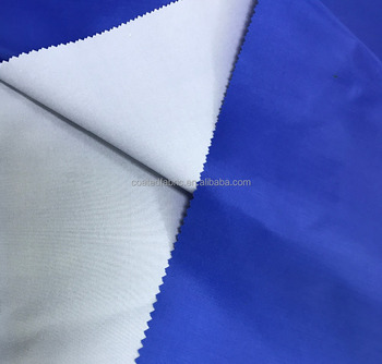 190T milky polyester taffeta stretch tent fabric waterproof