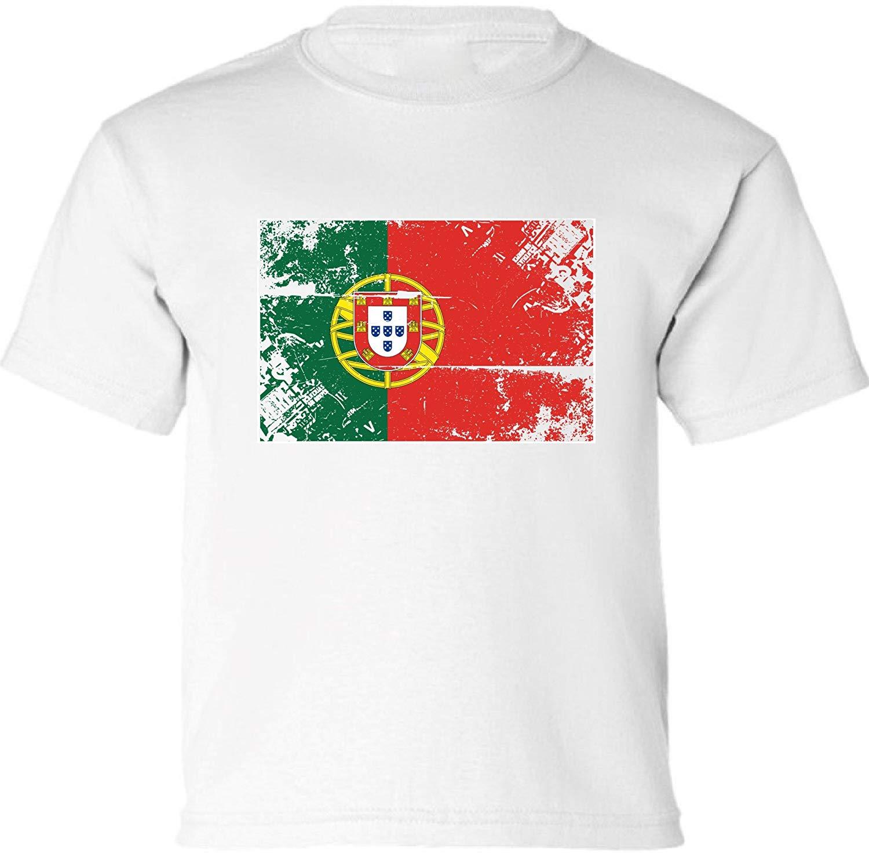 b80cb3b9c Get Quotations · Vizor Portugal Flag Toddler Shirt Portuguese Soccer Shirt  Kids Portugal Gifts