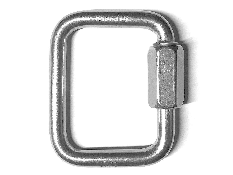 Triangle Quick Repair Link 6mm Delta  Marine Stainless Steel Handy Straps