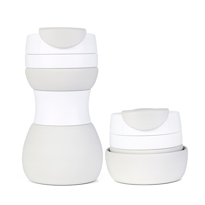 Hot Selling Portable Lightweight 500 ML BPA Free Silicone Collapsible Cup