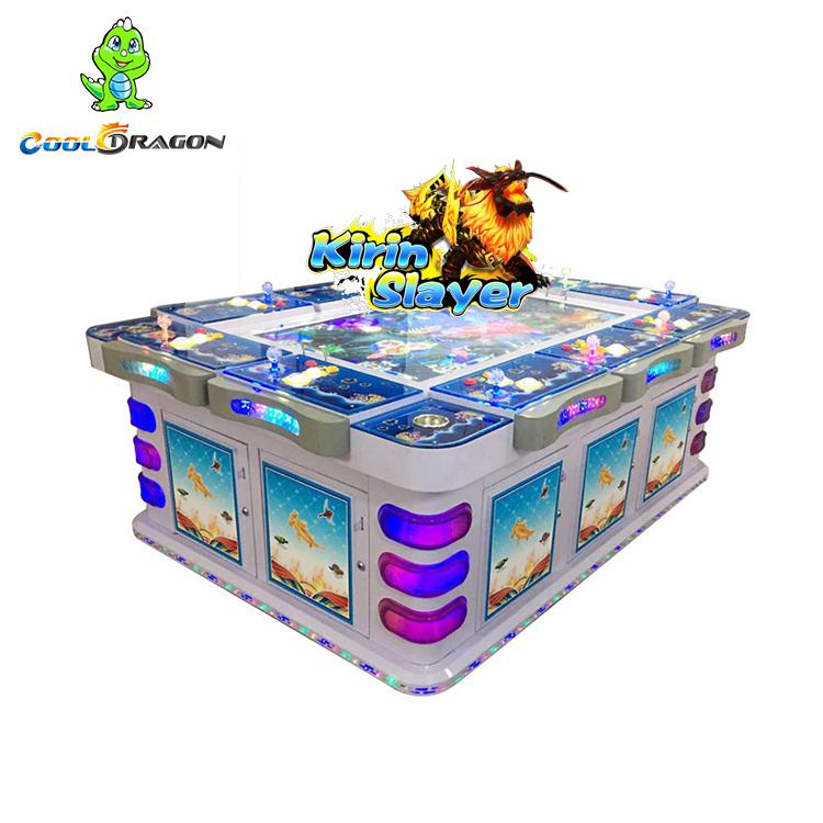 Arcade Video Kirin Slayer Fish Gambling Table Games Machine for Sale, Customized color