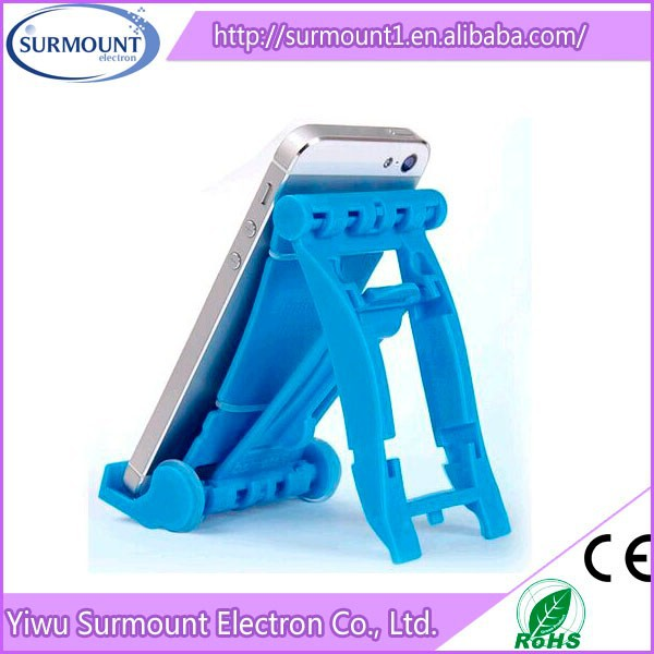 plastic desktop F1 race car mobile phone holder, factory direct cheap mobile phone holder